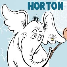 How to Draw Horton Hears a Who from Dr. Seuss's Book in Easy Steps