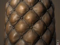 Couch Leather - Substance Designer, Matthias Schmidt on ArtStation at https://www.artstation.com/artwork/ZOozm