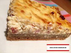 Rezept: Zwiebelkuchen glutenfrei   Ich bin intolerant. Lasagna, Gluten Free, Pie, Ethnic Recipes, Food, Cooking, Glutenfree, Torte, Cake