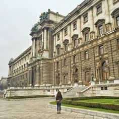 So much about Vienna makes me feel so small.