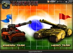 Tankboom is an addictive tanks shooter game !! #game #earth #shell #army #crazy #worms #tank #war #shock #battle #calibre #center #warfare #artillery #scorched #warz https://play.google.com/store/apps/details?id=com.techbla.tankboomfree