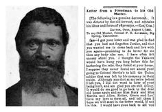 Ex-slave's letter to former master