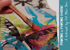 357 best creative fabric painting printing images on pinterest