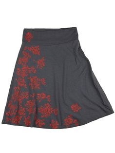 Supermaggie Roses A Line Skirt