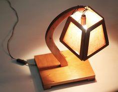 lampada legno design