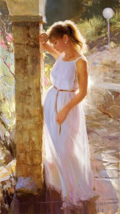 I'll be Waiting for You a Vladimir Volegov Original Painting available from J Watson Fine Art 661 your source for Vladimir Volegov original paintings and other Vladimir Volegov art. Your Paintings, Beautiful Paintings, Original Paintings, Woman Painting, Figure Painting, Vladimir Volegov, Beauty In Art, Impressionist Artists, Jolie Photo