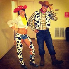 jessie and woody for halloween! & DIY Jessie and Woody Costumes | Halloween Costumes | Pinterest ...