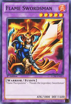Yu-Gi-Oh Card Review - Flame Swordsman || one of the faves Jonouchi/joey's monsters!! -Lv.