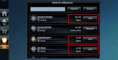 power rangers legacy wars how to find open alliance