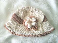 Knitting Pattern for Baby HatChildren di CottonPickings su Etsy, $4,99