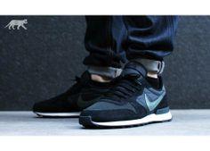 Nike Internationalist (black / dark mica green - sail - anthracite)