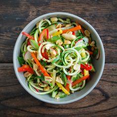 Drum Beets - Seattle Area Personal Chef: vietnamese zucchini noodle bowl