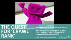 SEO Crawl Rank And Crawl Tank – Brighton SEO April 2016 from Dawn Anderson presented at April's brightonSEO.