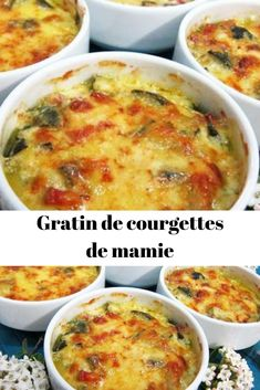 Tart Recipes, Spicy Recipes, Seafood Recipes, Chicken Recipes, Cooking Recipes, Zucchini Gratin, Cuisine Diverse, Seafood Dinner, Ground Turkey Recipes