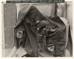 The coat Clyde was wearing when he was killed