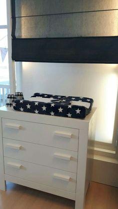 Ster Donkerblauw UPP!ES, van boxkleed, ledikantdeken tot aankleedkussenhoes.