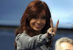 Cristina Fernández, former president of Argentina Cristina Fernandez, President Of Argentina, Former President, New Years Eve Party, List, Hair Styles, Women, Peace Signs, Llamas