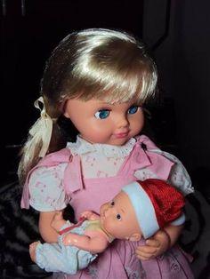 antiga boneca mãezinha da estrela - 319,00