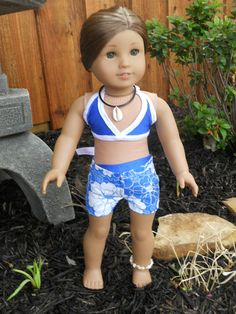 18 Inch American Girl Doll Clothes Hawaiian by TCsTreasures, $20.00