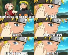 Naruto finally realize what Sakura is to him!