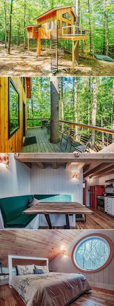 The treehouse is an eco-luxury for travelers as it takes care of most of its power requirements through wind energy. Additionally, it has 150 solar panels installed to meet additional energy requirements.
