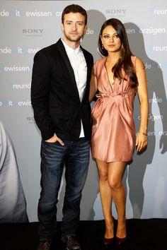 Mila Kunis and Justin Timberlake get friendly in Berlin