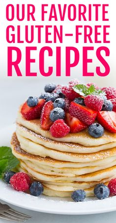 Gluten-free recipes,