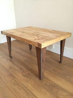 resultado de imagen para metal table legs | madera rustica y metal