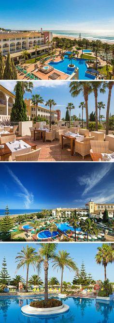 Hotel Fuerte Conil is een prachtig hotel aan de Costa de Luz in Spanje. Het viersterren hotel beschikt over meerdere zwembaden, een wellnesscentrum én gratis WiFi. Je verblijft hier in een luxe kamer met airco en een eigen balkon of terras. Wil je uitzicht op de subtropische tuin of liever op zee? De keuze is aan jou!