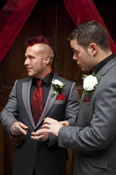 Don't Tell The Bride: The Real Story aka Mike & Becky's Mexican Wrestling Wedding · British Brides · Wedding · Rock n Roll Bride