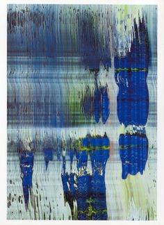 Gerhard Richter: Abstract #18 Gerhard Richter, New European Painting, Modern Art, Contemporary Art, Cg Art, Art Plastique, Installation Art, Les Oeuvres, Art Photography