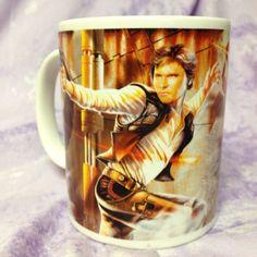 Star Wars~Galerie 2010 Coffee Mug~Han Solo and Boba Fett~EUC!!!