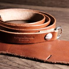 Washington St. Camera Strap in chestnut bridle.  Solid brass Chicago screw plated in a brushed nickel. . #camerastrap #fuji #x100 #leica #nikon #canon #mcmurrayandblonde #acadia #leather #style #horween #chromexcel #EDC #carry #fieldnotes #moleskine #thoroughbred #wallet #chicago #madeinusa #handmade #leathercraft #travel  #film #myfujifilm #menstyle #fashion #denim #raw