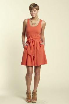 Alice - a great little summer dress with pockets www.joycerobb.kikapaprika.com