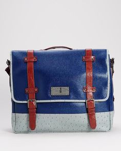Christian Audigier Maestro Messenger Bag - Sales Events - Modnique.com