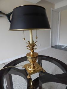 Solid Brass Pineapple Lamp Kitchener / Waterloo Kitchener Area image 1