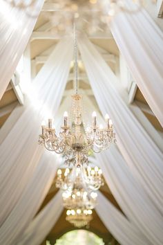 Chandeliers in our Conservatory Chapel Conservatory, Farm Wedding, Tents, Chandeliers, Wedding Venues, Ceiling Lights, Decor, Teepees, Transitional Chandeliers