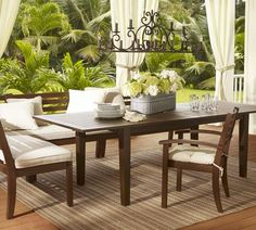 """Chesapeake Rectangular Extending Dining Table 