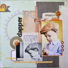 Basic Grey's Clippings by Jess Mutty for Right at Home Scrapbooking