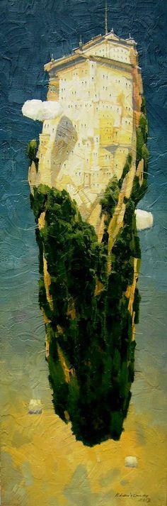 Витаутас Laisonas, 1965   Магический реализм художник   Tutt'Art @   Pittura * Scultura * Poesia * Musica  