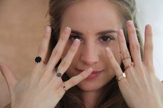 Antonella Macchia rings