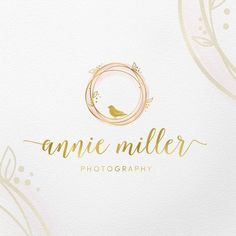 Bird logo, Photography logo and watermark, Wedding Logo design, Event planner Brand design, Custom l Wedding Logo Design, Wedding Logos, Logo Fotografie, Nest Logo, Three Logo, Planner Brands, Paper Logo, Bird Logos, Circle Logos