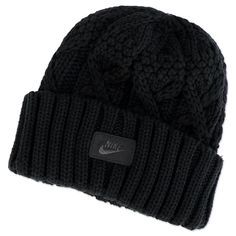 5c9a193844044 Nike chunky winter beanie cable knitted hat - New with tags XMAS WINTER in  Clothes