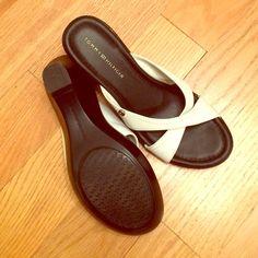"Tommy Hilfiger shoes Tommy Hilfiger shoes. Great condition. 3"" wedge heels Tommy Hilfiger Shoes Wedges"