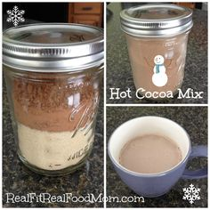 Blog of all non-processed foods including Two Ingredient Hot Cocoa Mix | Real Fit, Real Food Mom