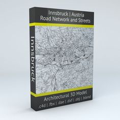 Innsbruck Road Network and Streets | 3D model