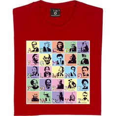 The ABC of Radicalism T-Shirt. A subversive take on the typical A is for Apple children's poster listing radicals...