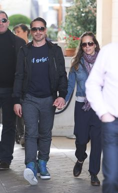 Robert Downey with wife Susan and son Exton in Paris promoting Iron Man 3 Lainey Gossip Entertainment Update