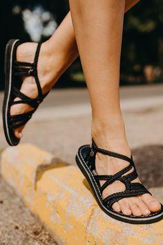 Vines Islandwear Womens Empress Wedge Sandal-Midnight-9