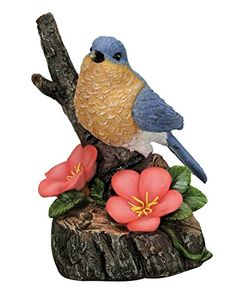 Natures Garden Bluebird with Motion Activated Sound *** For more information, visit image link. This is Amazon affiliate link.